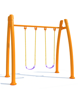 Columpio doble arco
