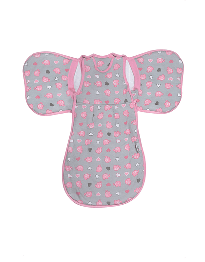 Slumberwings Elephant Pink - SWEP02
