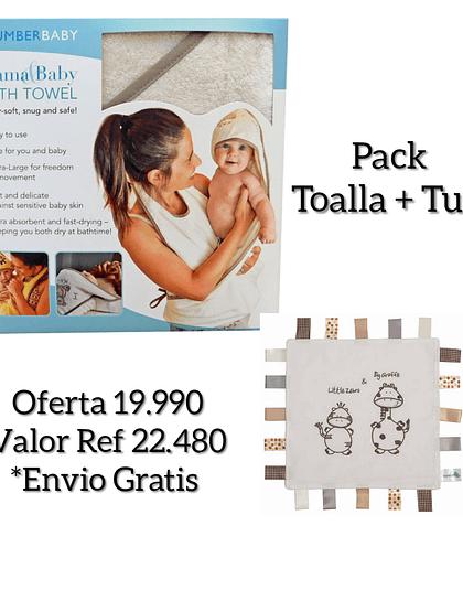 Pack Toalla Delantal Teddy y Tuto