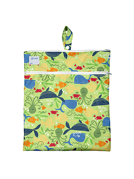 Bolso Impermeable Verde Sealife Green Sprouts