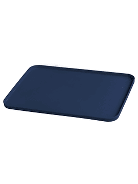 Mat Individual de Silicona Azul Oscuro para comer con las manos