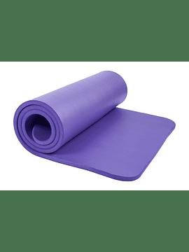 Mat de Yoga y Pilates Kounga Pro 15 MM Morado
