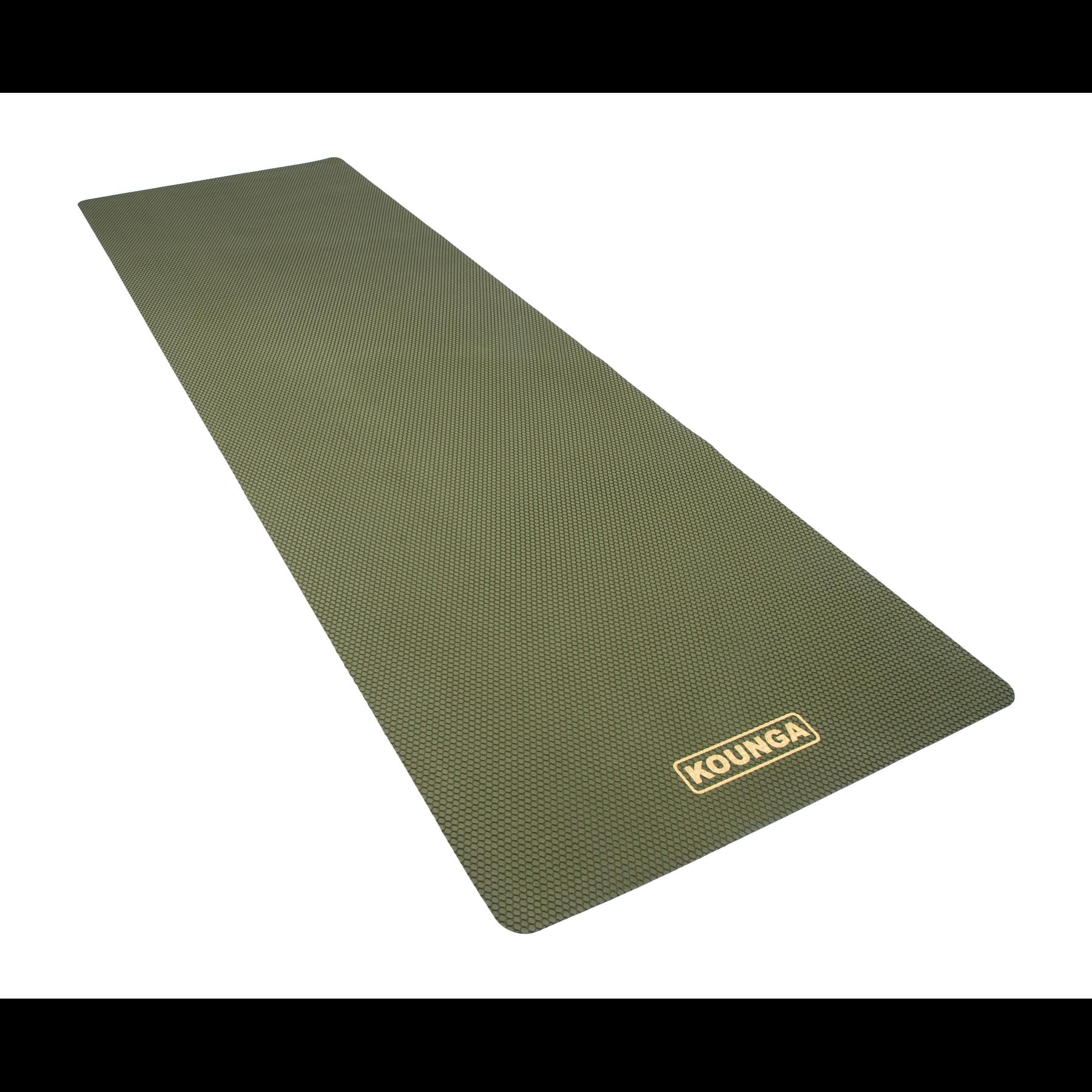 Mat de Yoga Kounga Plegable Profesional Verde Natura Ultra Light 1.5