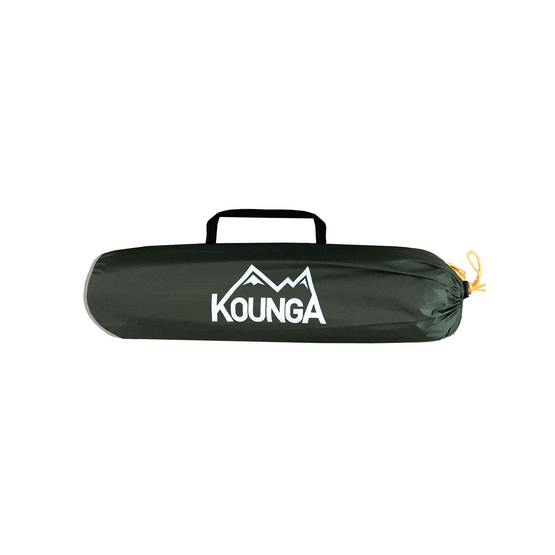 Carpa Compacta Kounga Sabas Nieves para dos personas Verde y Gris