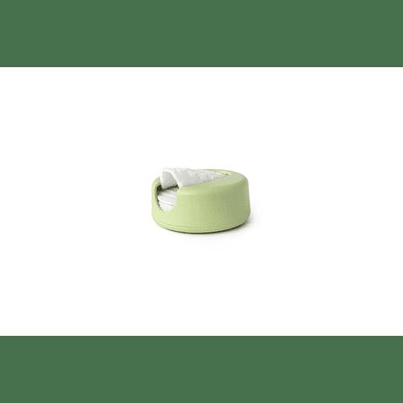 Algodón Ecológico Desmaquillante Reutilizable Reutilizable Verde