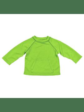 Polera Secado Rapido Con Filtro Verde Iplay