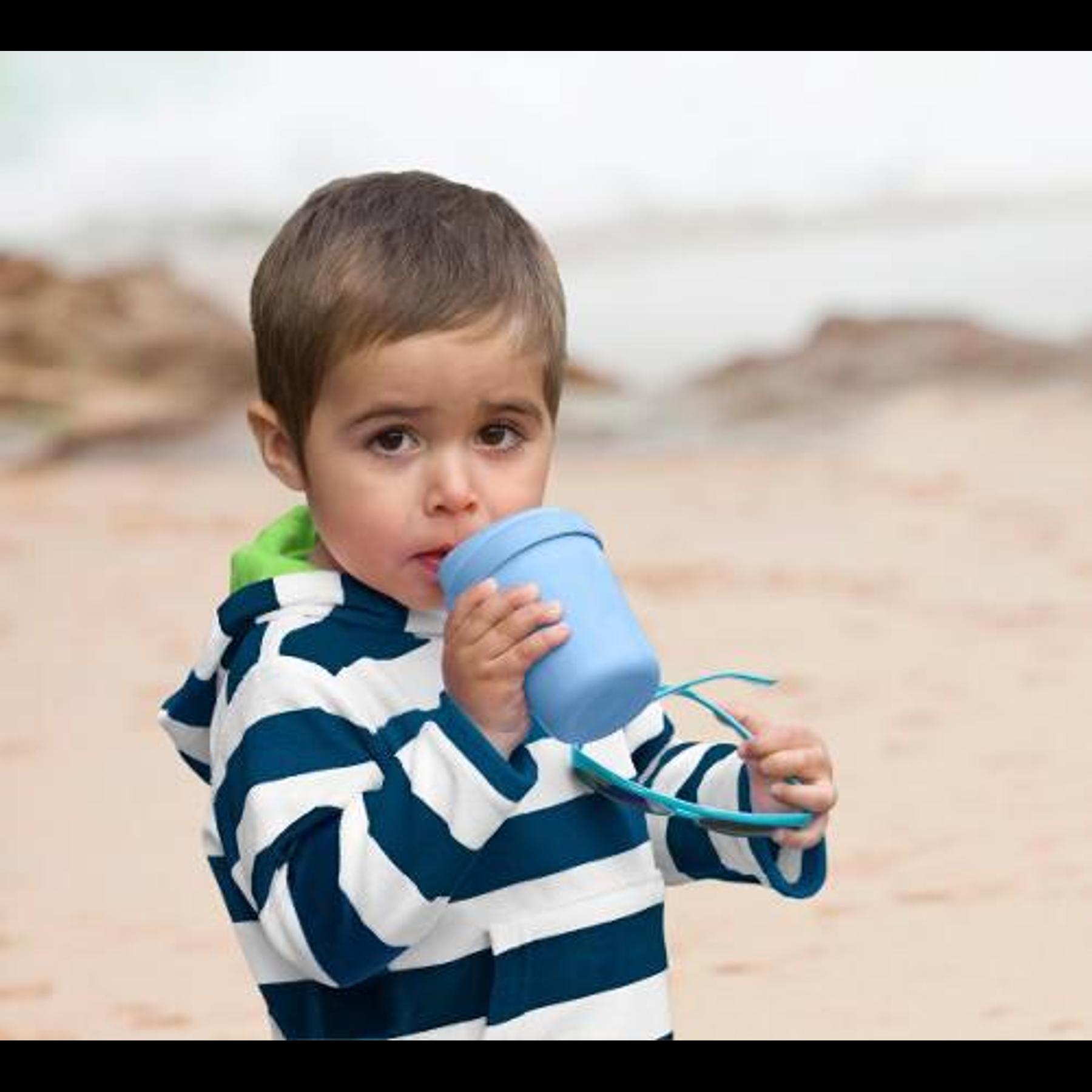 Salida De Baño Orgánica Azul, 6 A 12 Meses iplay
