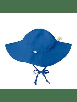 Sombrero Brim con Filtro UV Azul Rey I Play