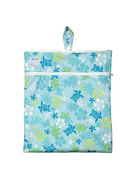 Bolso Impermeable Tortuga Hawai Celeste Green Sprouts