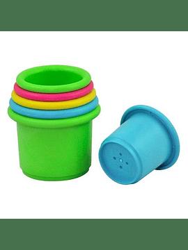 Juguete Para Apilar Multicolor De 6 Piezas, iplay