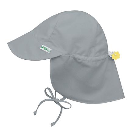 Sombrero Solid Flap Gris