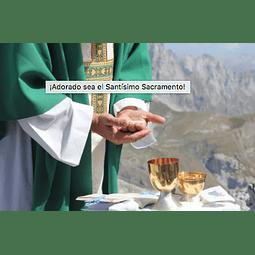 AUDIO: Sakrament euharistije. Grižane. 22.07.19 / 2 EURO = 8.000 COP