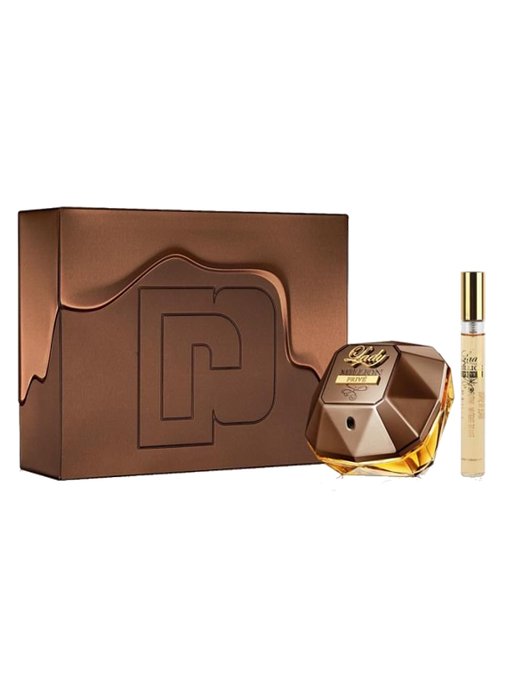 (W) ESTUCHE - Lady Million Prive 80 ml EDP Spray