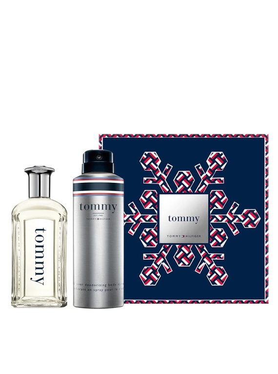 (M) ESTUCHE - Tommy Hilfiger 100 ml EDT Spray