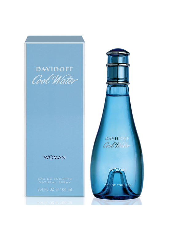 (W) Cool Water 100 ml EDT Spray