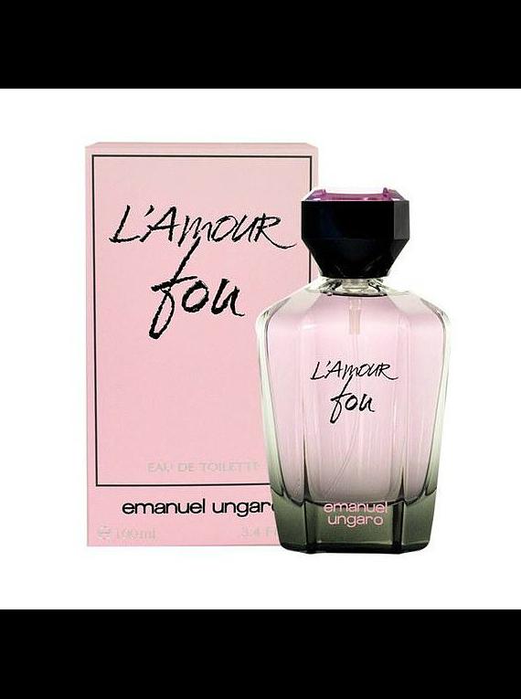 (W) L' Amour Fou 100 ml EDT Spray