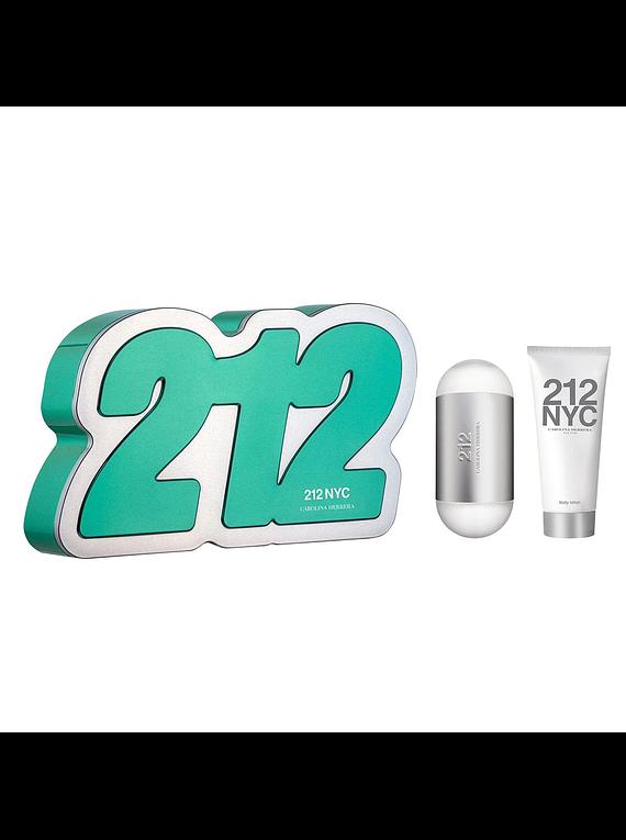 (W) ESTUCHE - 212 NYC 100 ml EDT Spray