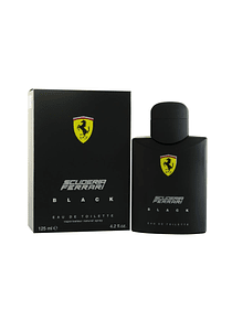 (M) Ferrari Scuderia Black 125 ml EDT Spray