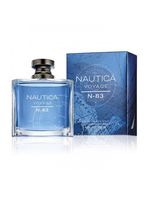 (M) Nautica Voyage N-83 100 ml EDT Spray