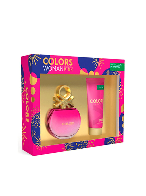 (W) ESTUCHE - Colors Pink 80 ml EDT Spray