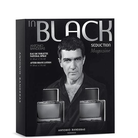 Perfume Black Seduction Varon Edt 100 ml Estuche