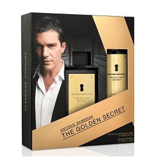 Perfume Golden Secret Varon Edt 100 ml Estuche