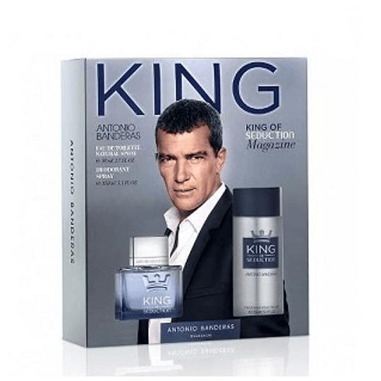 Perfume King Seduction Varon Edt 100 ml Estuche
