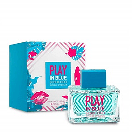 Perfume Play In Blue Seduction Dama Edt 80 ml