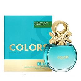 Perfume Benetton United Colors Blue Dama Edt 80 ml