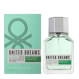 Perfume Benetton United Dreams Be Strong Varon Edt 100 ml