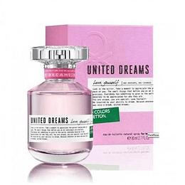 Perfume Benetton United Dreams Love Yourself Dama Edt 80 ml