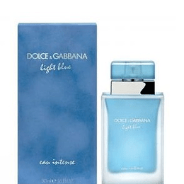 Perfume Light Blue Eau Intense Dama Edp 50 ml