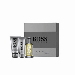 Perfume Boss Bottle N° 6 (Gris) Varon Edt 100 ml Estuche