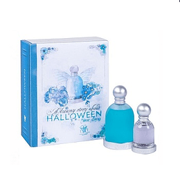 Perfume Halloween Blue Drop Dama Edt 100 ml + Halloween Edt 30 ml Estuche