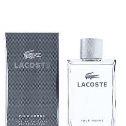 Perfume Lacoste Pour Homme (Gris) Varon Edt 100 ml