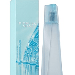 Perfume Pitbull Miami Dama Edp 100 ml