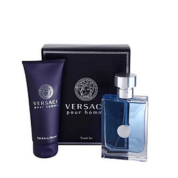 Perfume Versace Pour Homme Varon Edt 100 ml Estuche