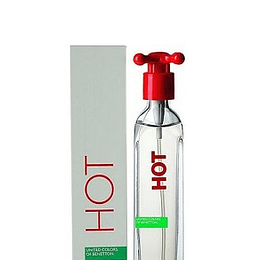 Perfume Hot Benetton Dama Edt 100 ml