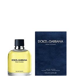 Perfume Dolce Gabbana Pour Homme Varon Edt 125 ml