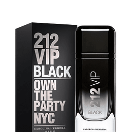 Perfume 212 Vip Black Varon Edp 200 Ml