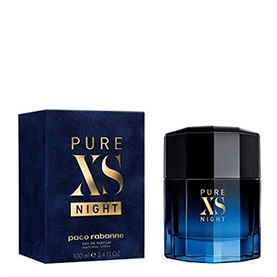 Perfume Xs Pure Night Varon Edt 100 Ml
