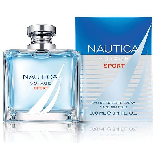 Nautica Voyage Sport para hombre / 100 ml Eau De Toilette Spray