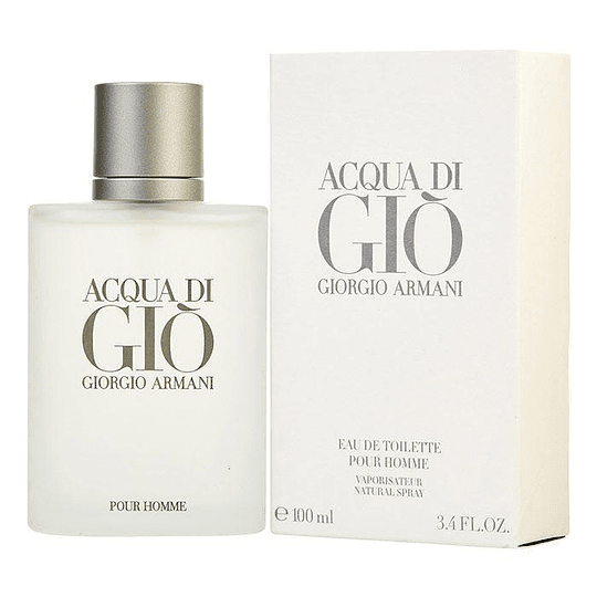 Acqua Di Gio para hombre / 100 ml Eau De Toilette Spray