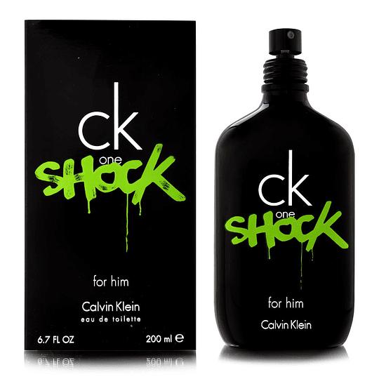 CK One Shock para hombre / 200 ml Eau De Toilette Spray