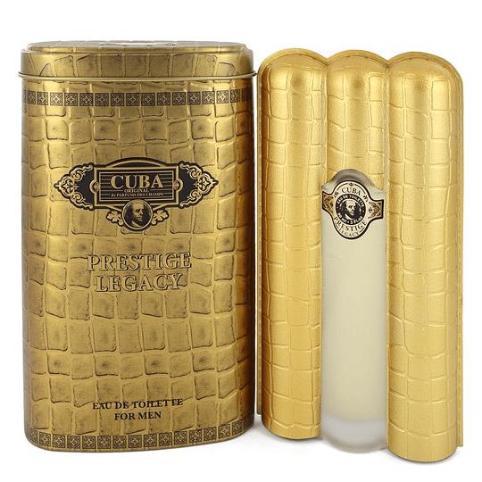 Cuba Prestige Legacy para hombre / 90 ml Eau De Toilette Spray