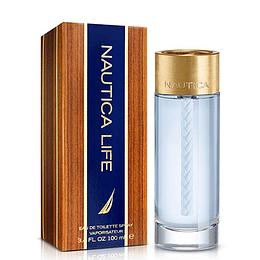 Nautica Life para hombre / 100 ml Eau De Toilette Spray