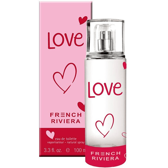 French Riviera Love para mujer / 100 ml Eau De Toilette Spray