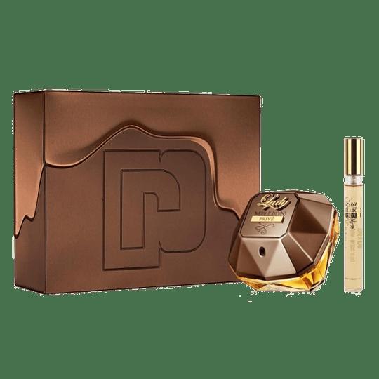 Lady Million Prive para mujer / SET - 80 ml Eau De Parfum Spray