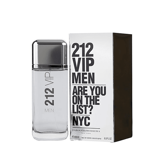212 Vip Men para hombre / 200 ml Eau De Toilette Spray