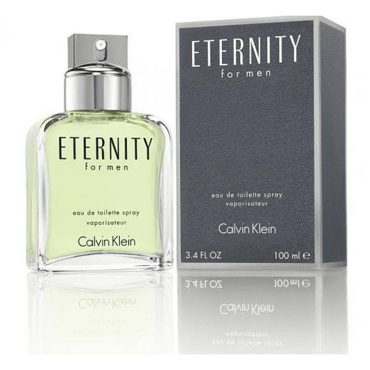 Eternity para hombre / 100 ml Eau De Toilette Spray